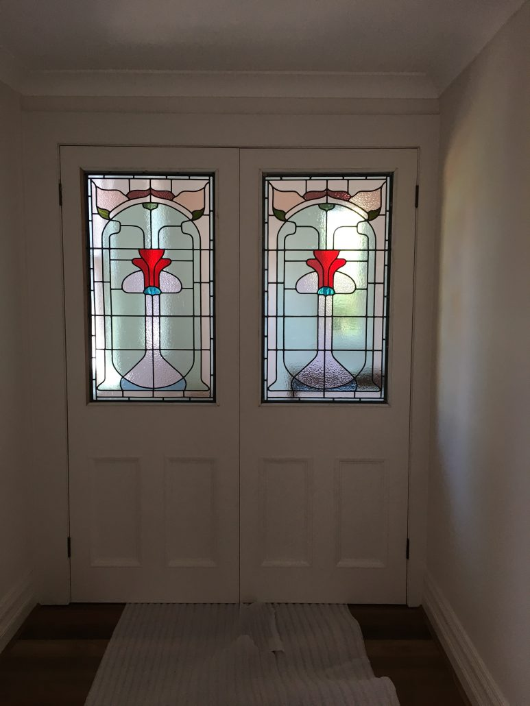Leadlight Windows Restoration Lawrence Leadlights Sydney